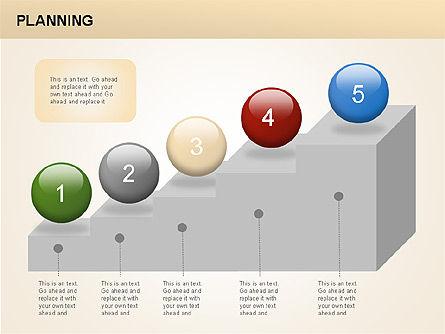 Planning Diagrams, Slide 4, 00074, Process Diagrams — PoweredTemplate.com