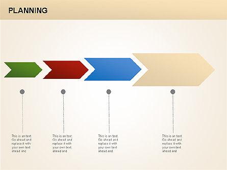 Planning Diagrams, Slide 5, 00074, Process Diagrams — PoweredTemplate.com