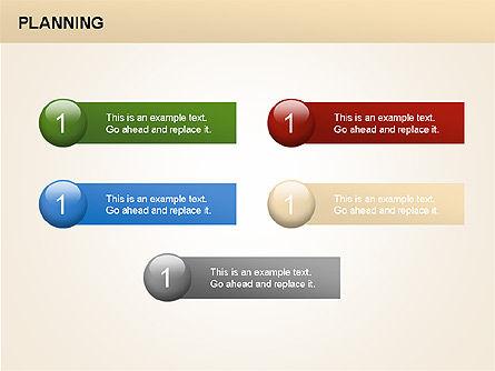 Planning Diagrams, Slide 7, 00074, Process Diagrams — PoweredTemplate.com