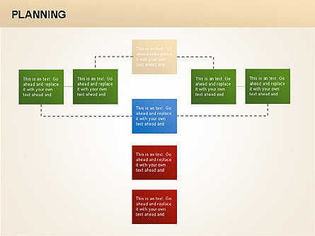 Planning Diagrams, Slide 8, 00074, Process Diagrams — PoweredTemplate.com