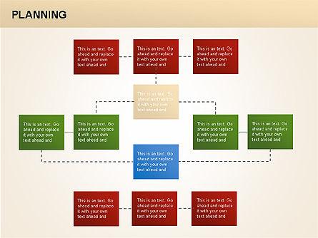 Planning Diagrams, Slide 9, 00074, Process Diagrams — PoweredTemplate.com
