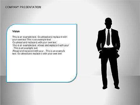 Company Presentation Diagrams, Slide 7, 00075, Organizational Charts — PoweredTemplate.com