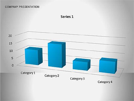 Company Presentation Diagrams, Slide 8, 00075, Organizational Charts — PoweredTemplate.com