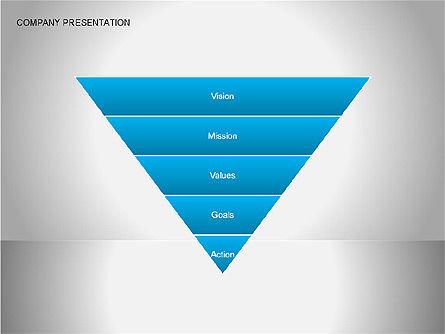Company Presentation Diagrams, Slide 9, 00075, Organizational Charts — PoweredTemplate.com