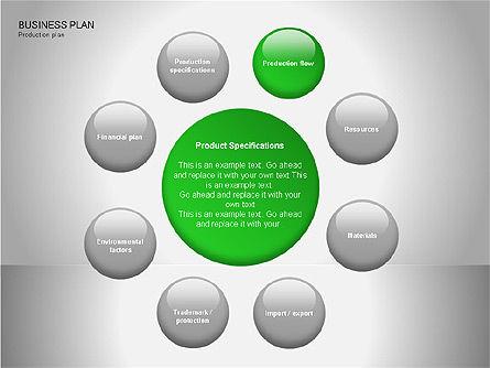 Business Plan Diagrams, Slide 10, 00076, Business Models — PoweredTemplate.com