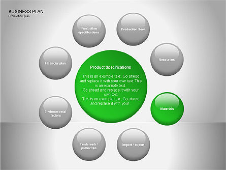 Business Plan Diagrams, Slide 12, 00076, Business Models — PoweredTemplate.com