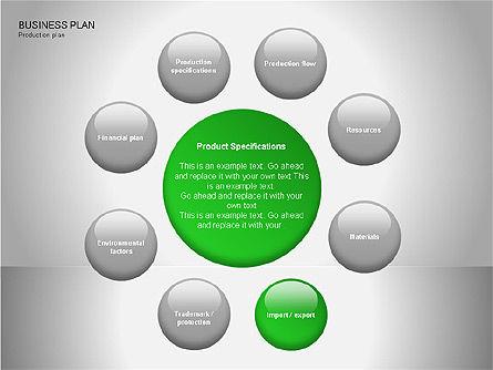 Business Plan Diagrams, Slide 13, 00076, Business Models — PoweredTemplate.com