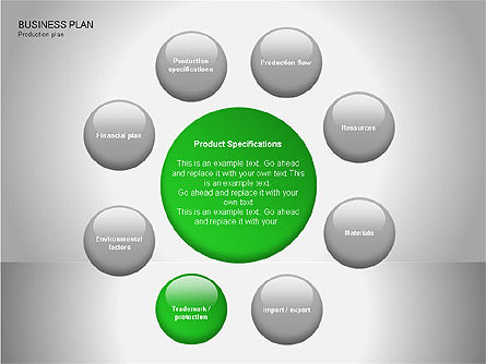Business Plan Diagrams, Slide 14, 00076, Business Models — PoweredTemplate.com