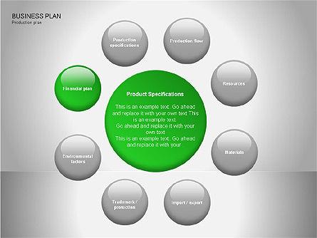 Business Plan Diagrams, Slide 16, 00076, Business Models — PoweredTemplate.com