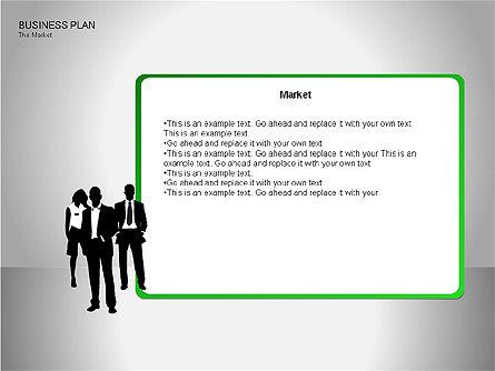 Business Plan Diagrams, Slide 18, 00076, Business Models — PoweredTemplate.com