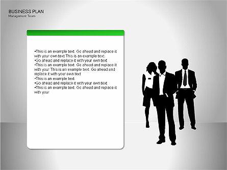 Business Plan Diagrams, Slide 20, 00076, Business Models — PoweredTemplate.com
