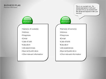 Business Plan Diagrams, Slide 3, 00076, Business Models — PoweredTemplate.com