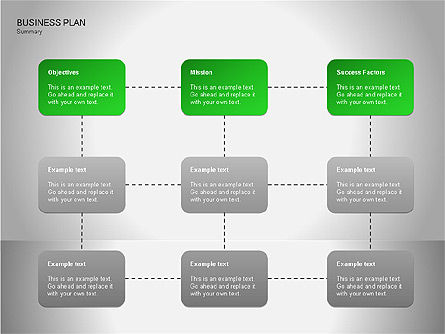 Business Plan Diagrams, Slide 6, 00076, Business Models — PoweredTemplate.com
