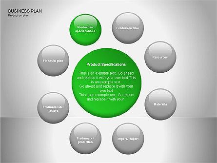 Business Plan Diagrams, Slide 9, 00076, Business Models — PoweredTemplate.com