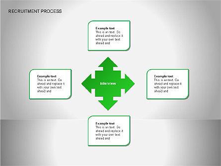 Recruitment Process Diagrams, Slide 15, 00077, Process Diagrams — PoweredTemplate.com