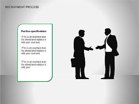 Recruitment Process Diagrams, Slide 5, 00077, Process Diagrams — PoweredTemplate.com