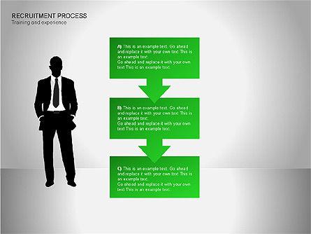 Recruitment Process Diagrams, Slide 6, 00077, Process Diagrams — PoweredTemplate.com