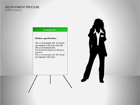 Recruitment Process Diagrams, Slide 9, 00077, Process Diagrams — PoweredTemplate.com