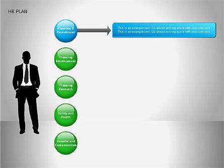 Human Resources Plan Diagrams, Slide 10, 00078, Process Diagrams — PoweredTemplate.com