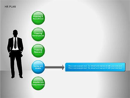 Human Resources Plan Diagrams, Slide 13, 00078, Process Diagrams — PoweredTemplate.com