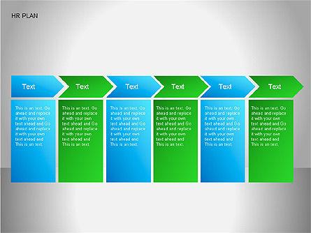 Human Resources Plan Diagrams, Slide 15, 00078, Process Diagrams — PoweredTemplate.com