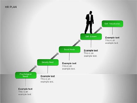 Human Resources Plan Diagrams, Slide 2, 00078, Process Diagrams — PoweredTemplate.com