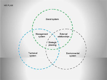 Human Resources Plan Diagrams, Slide 5, 00078, Process Diagrams — PoweredTemplate.com