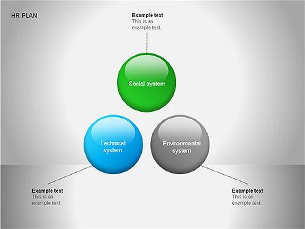 Human Resources Plan Diagrams, Slide 6, 00078, Process Diagrams — PoweredTemplate.com