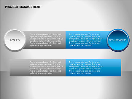 Project Management Diagrams, Slide 11, 00080, Business Models — PoweredTemplate.com