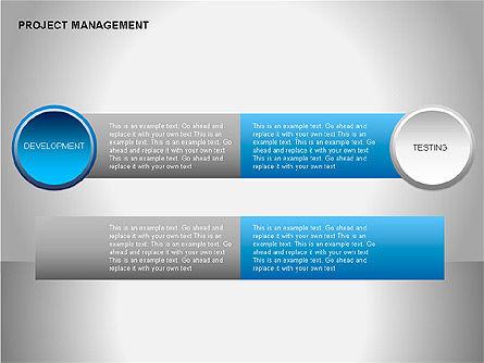 Project Management Diagrams, Slide 12, 00080, Business Models — PoweredTemplate.com