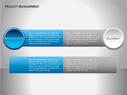 Project Management Diagrams, Slide 13, 00080, Business Models — PoweredTemplate.com