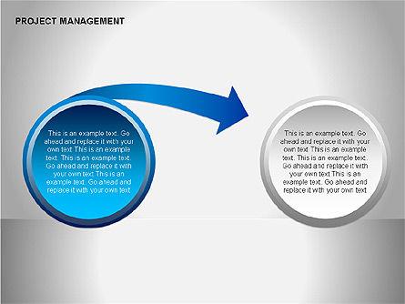 Project Management Diagrams, Slide 14, 00080, Business Models — PoweredTemplate.com
