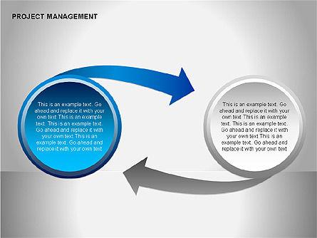 Project Management Diagrams, Slide 15, 00080, Business Models — PoweredTemplate.com