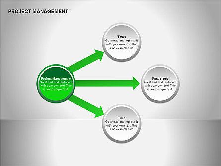 Project Management Diagrams, Slide 2, 00080, Business Models — PoweredTemplate.com