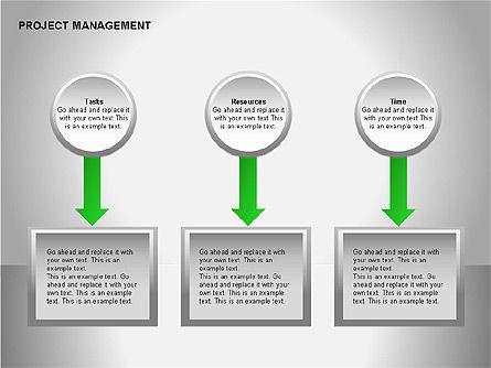 Project Management Diagrams, Slide 3, 00080, Business Models — PoweredTemplate.com