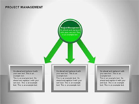 Project Management Diagrams, Slide 4, 00080, Business Models — PoweredTemplate.com