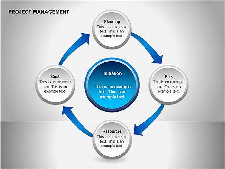 Project Management Diagrams, Slide 5, 00080, Business Models — PoweredTemplate.com