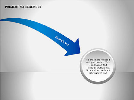 Project Management Diagrams, Slide 6, 00080, Business Models — PoweredTemplate.com
