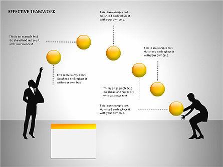 Effective Teamwork Shapes Slide 2