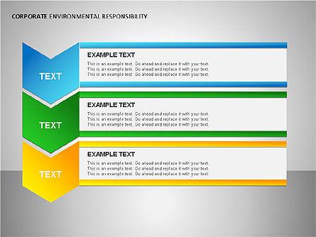Environmental Responsibility Diagrams, Slide 10, 00087, Organizational Charts — PoweredTemplate.com