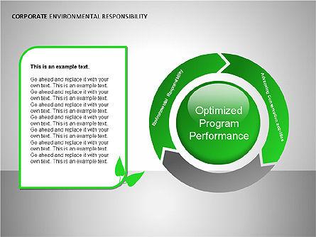 Environmental Responsibility Diagrams, Slide 2, 00087, Organizational Charts — PoweredTemplate.com