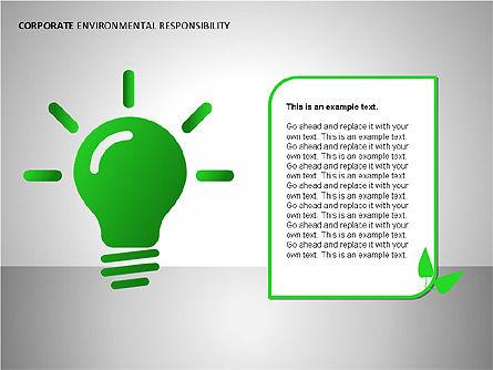 Environmental Responsibility Diagrams, Slide 6, 00087, Organizational Charts — PoweredTemplate.com