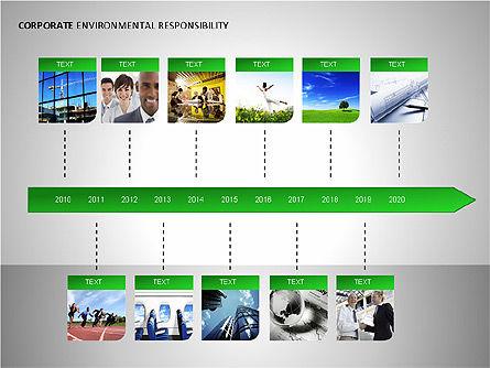 Environmental Responsibility Diagrams, Slide 9, 00087, Organizational Charts — PoweredTemplate.com