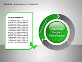 Organizational Charts: Environmental Responsibility Diagrams #00087