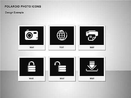 Polaroid Icons, Slide 10, 00090, Icons — PoweredTemplate.com