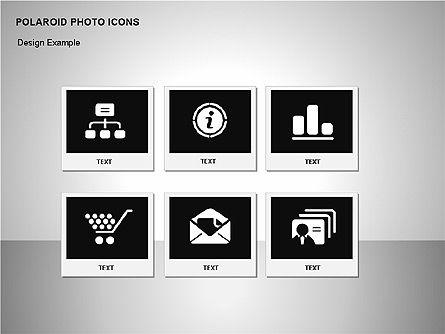 Polaroid Icons, Slide 11, 00090, Icons — PoweredTemplate.com