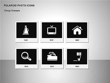 Polaroid Icons, Slide 12, 00090, Icons — PoweredTemplate.com