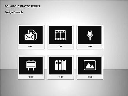 Polaroid Icons, Slide 13, 00090, Icons — PoweredTemplate.com