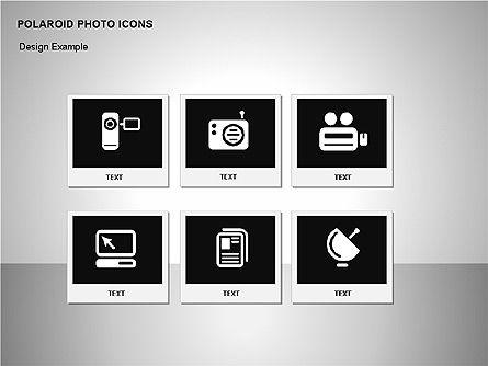 Polaroid Icons, Slide 14, 00090, Icons — PoweredTemplate.com