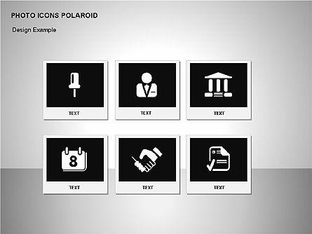 Polaroid Icons, Slide 15, 00090, Icons — PoweredTemplate.com